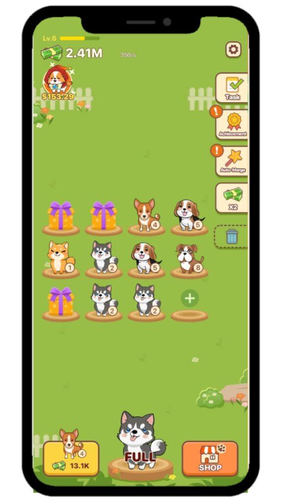 Puppy Town - Merge & Win - Earn Money Online