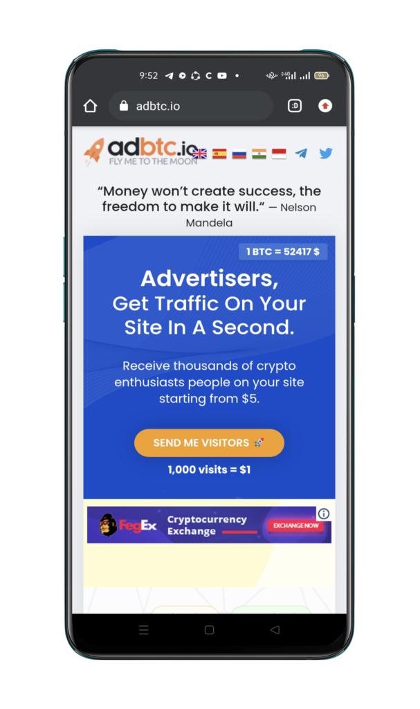 adbtc.io make money online