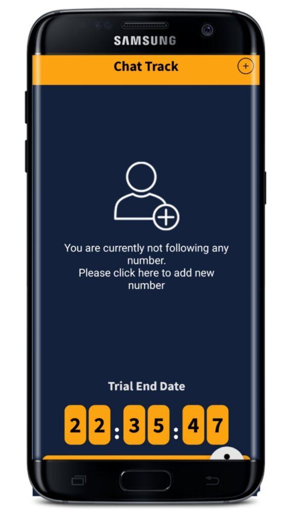 Whattsapp Chat Tracker App