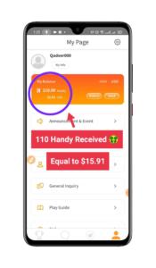 Download Handy Pick App - Earn Money Online - Refer Earn - Get 110 Handy Pakistani Rs 24,000 ( $14 to 15$ )