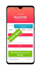 Tiktok App New Offer - Invite And Earn - Get 440 Per Invite - Earn Money Online